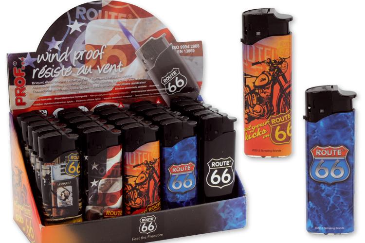 encendedor prof laser route 66 arafa articulos para el fumador. Black Bedroom Furniture Sets. Home Design Ideas